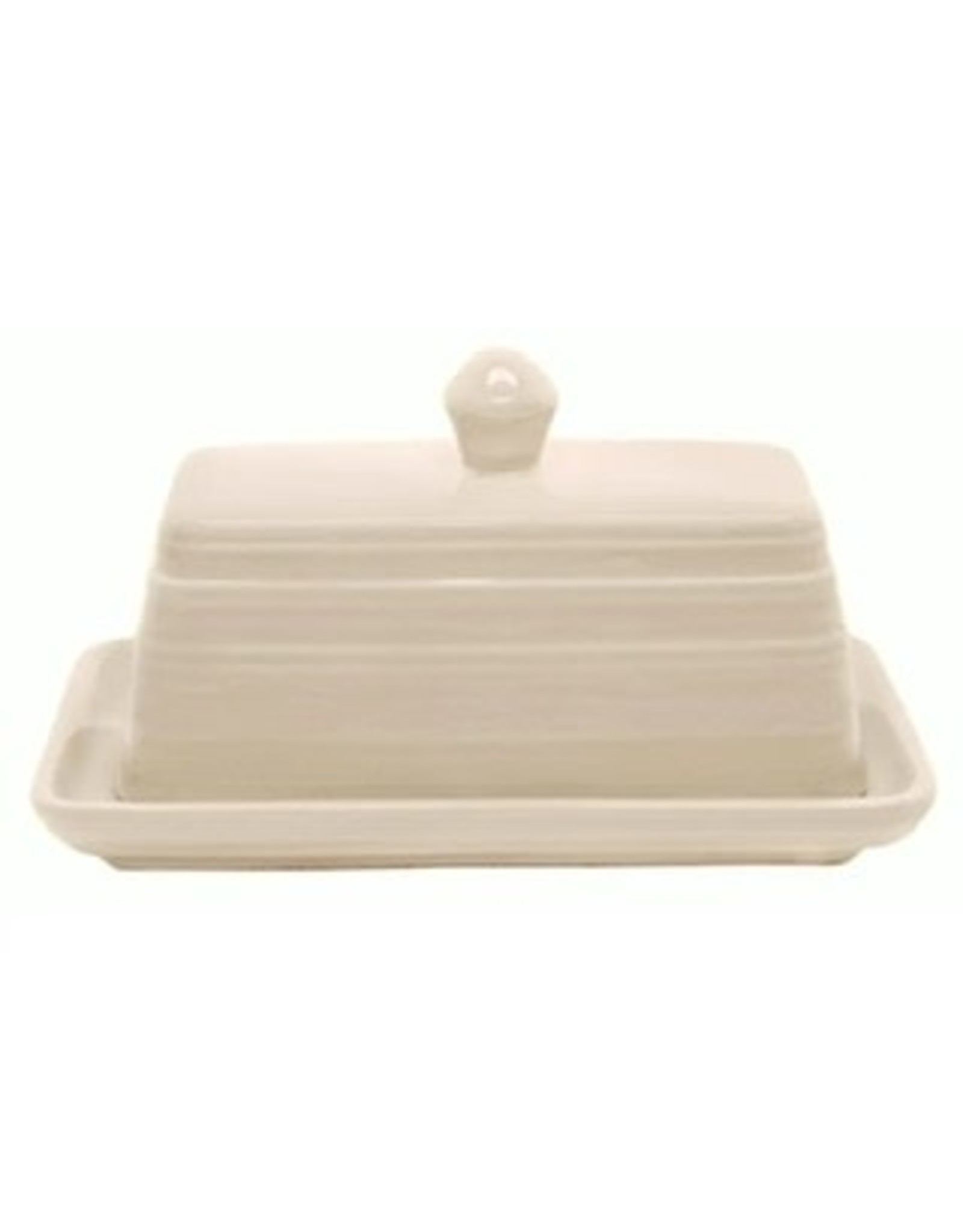 Ceramic Covered Butter Dish