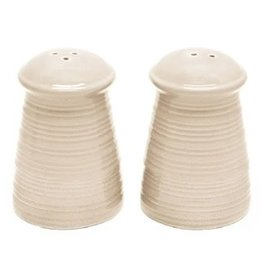 Ceramic - Cream  Salt and Pepper Set