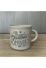 Espresso Mug- Cool Gray- To Grandmas House We Go