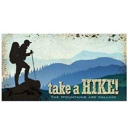 Horizontal Tin Sign - Take A Hike