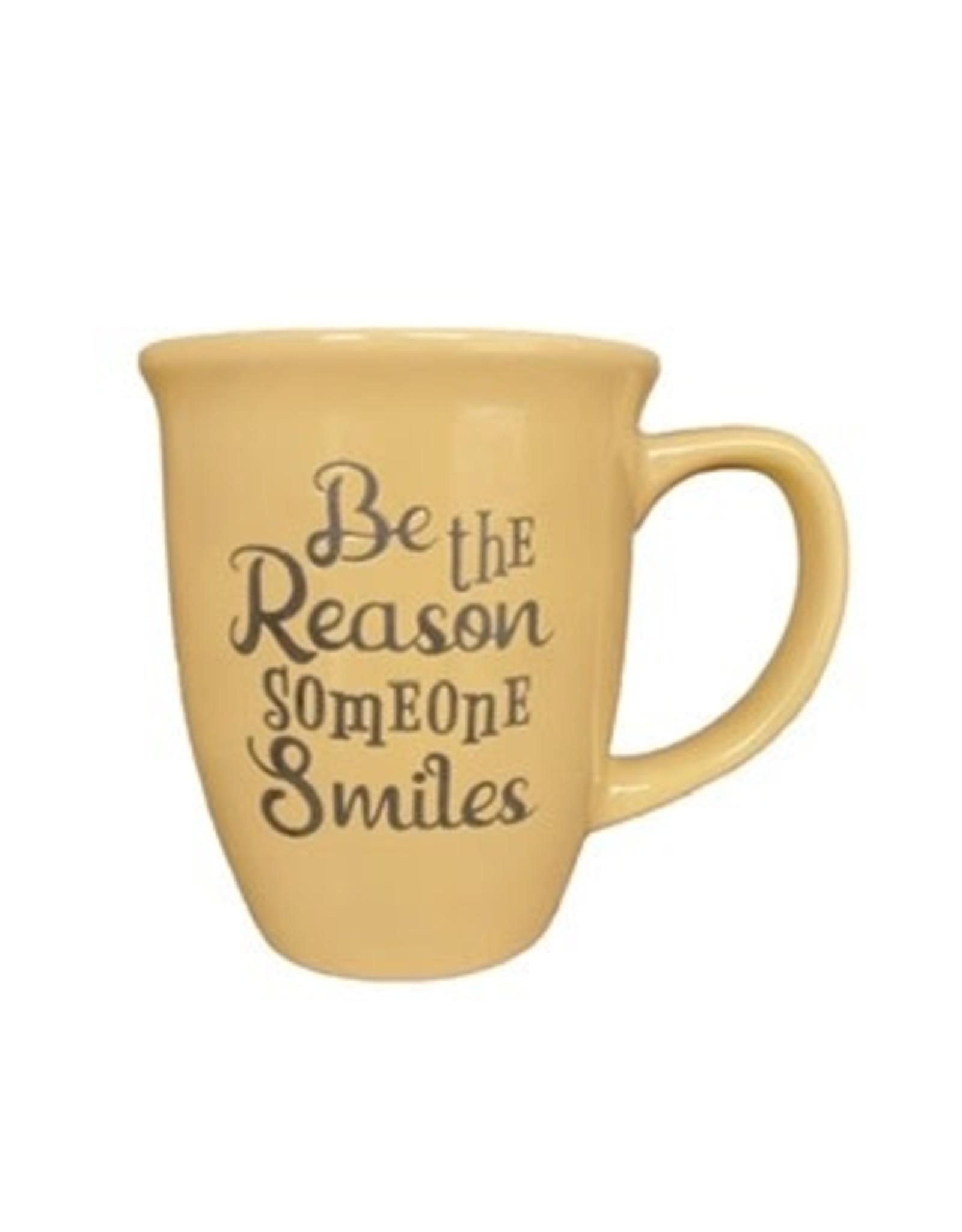 """Ceramic Mug - """"Be the Reason Someone Smiles"""""""