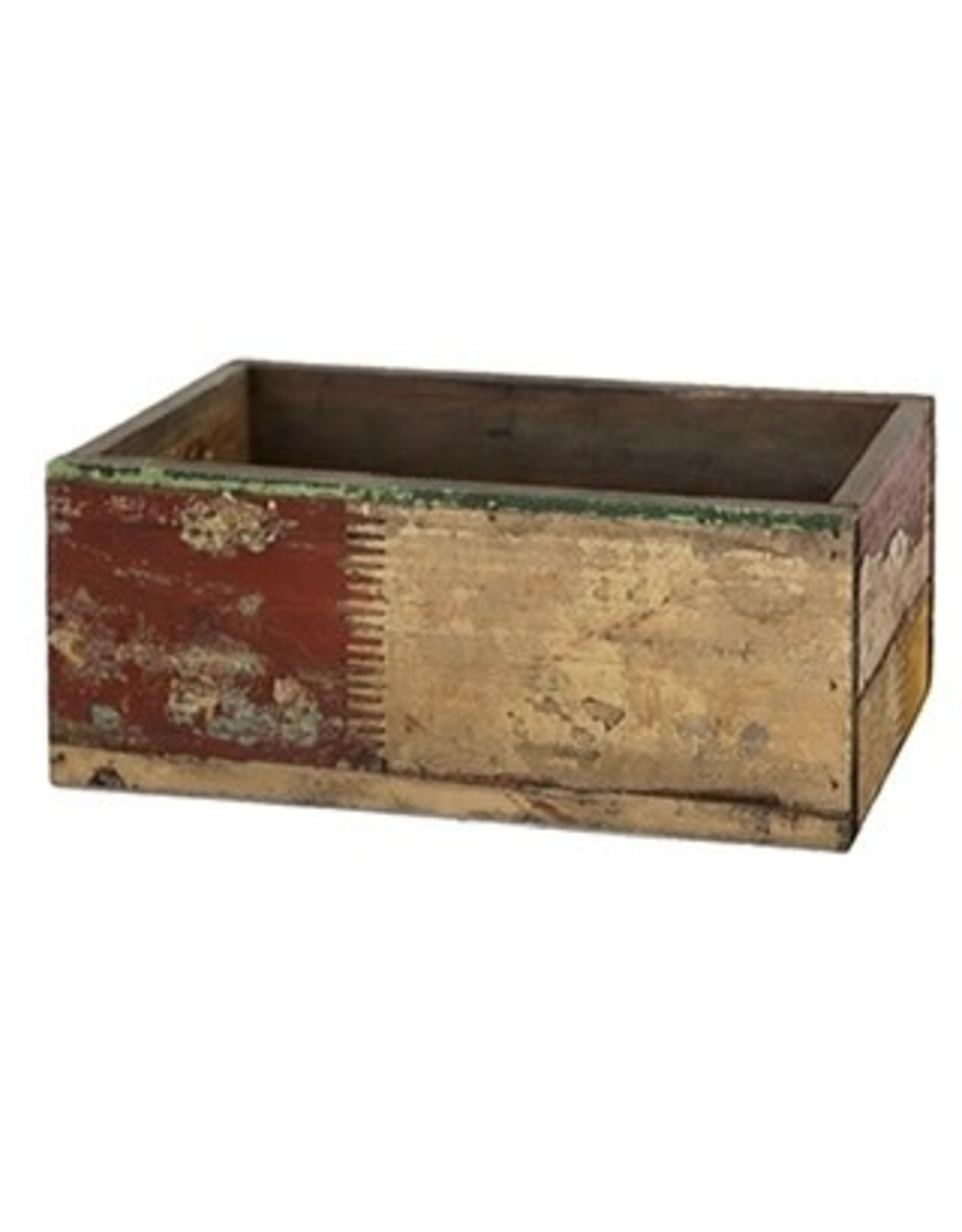 Wood Rectangle Crate