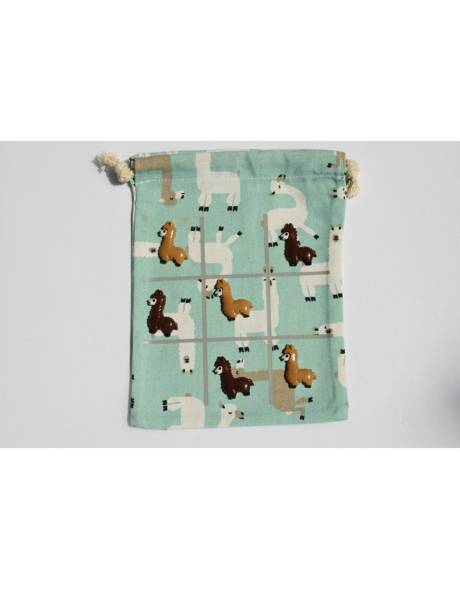 Alpaca Tic-Tac-Toe Game