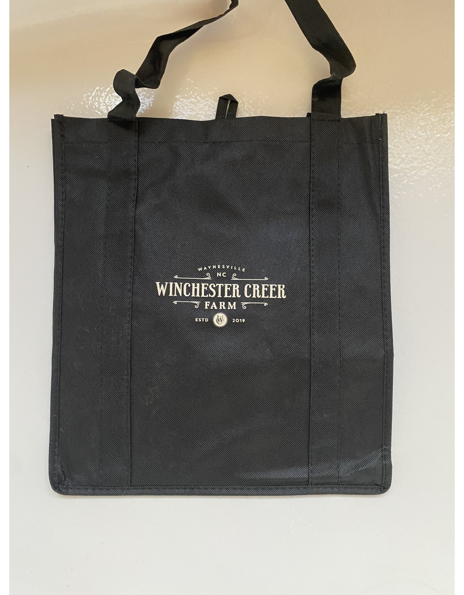 Winchester Creek Farm Black Tote