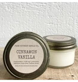Cinnamon Vanilla Soy Candle - Mini