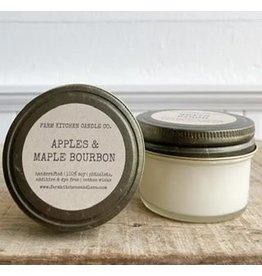 Apple & Maple Bourbon Soy Candle - Mini