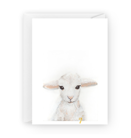 Little Lamb Greeting Card