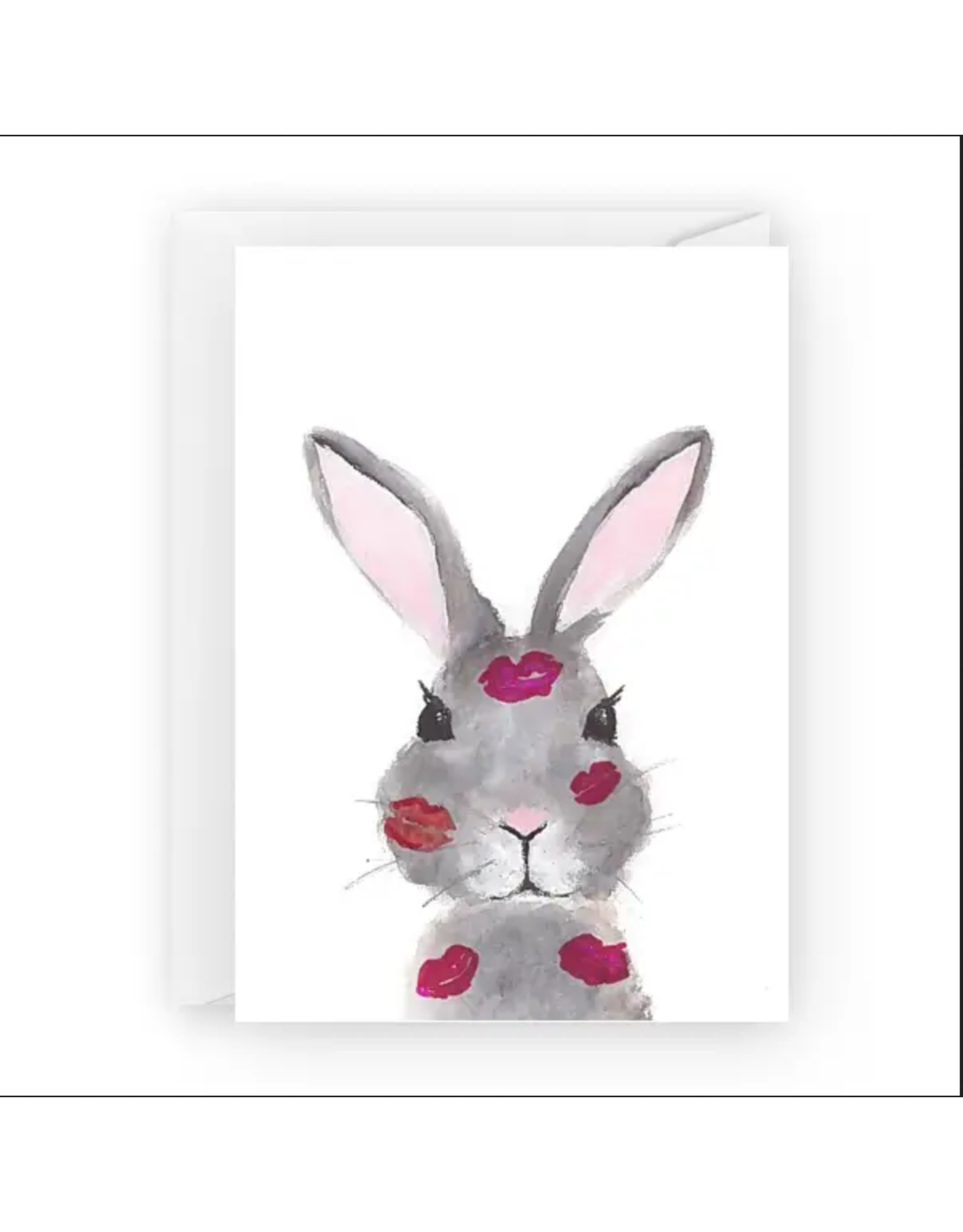 Bunny Kisses Greeting Card