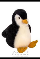 """100% Baby Alpaca 13"""" Penguin Plush"""
