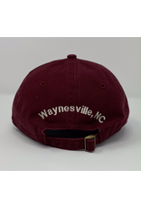 Burgundy WCF Custom Ball Cap