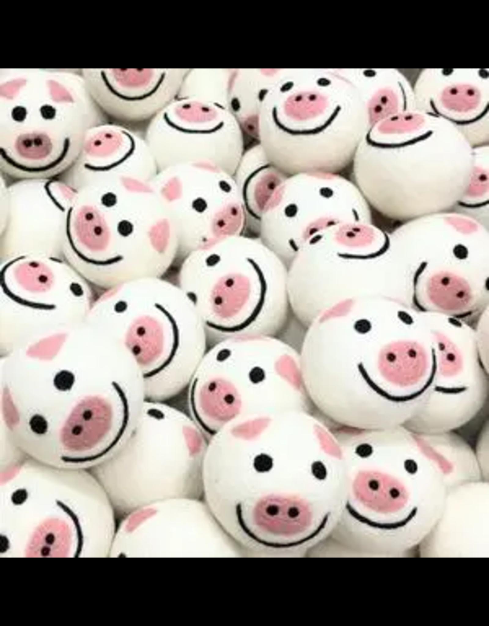 Friendsheep Piggy Band Wool Dryer Balls