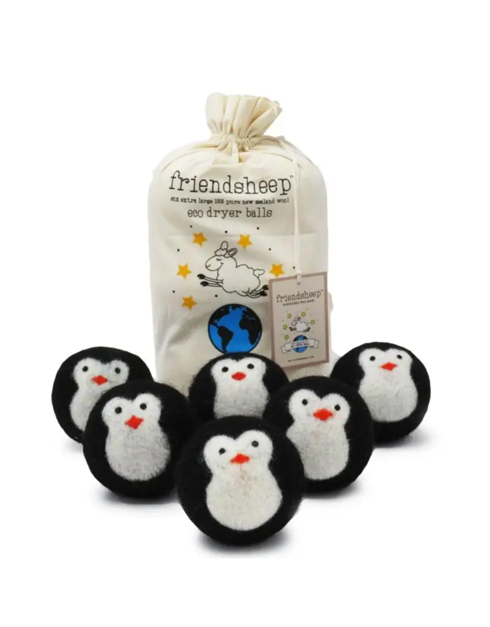 Friendsheep Cool Friends Wool Dryer Balls