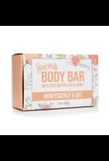 Honeysuckle & Oat Goat Milk Body Bar