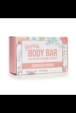 Sunkissed Papaya Goat Milk Body Bar