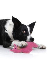 Natural Dog Toy - Peggy Pig