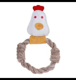 Rope Dog Toy - Chicken