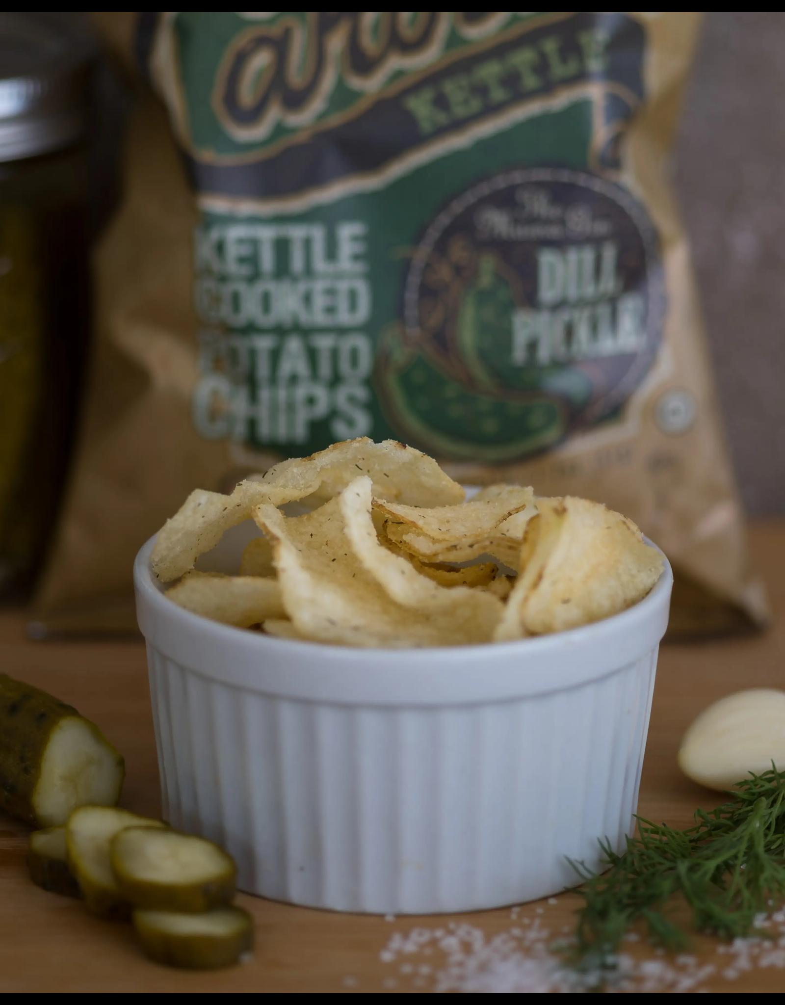 2 oz. Dill Pickle Carolina Kettle Chips
