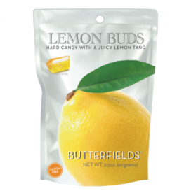 2.5 oz. Butterfields Lemon Buds Hard Candy