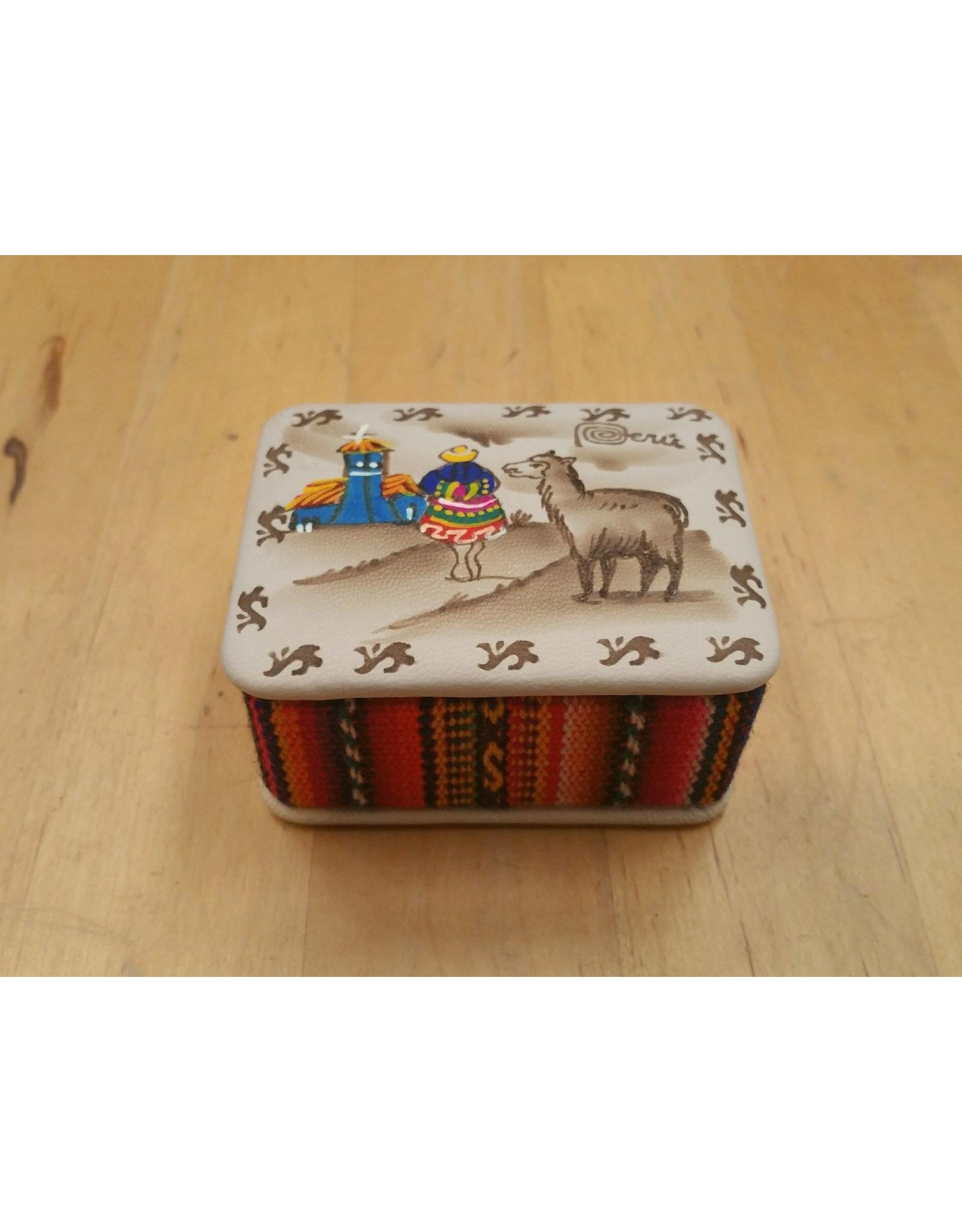 Alpaca Scene Trinket Box