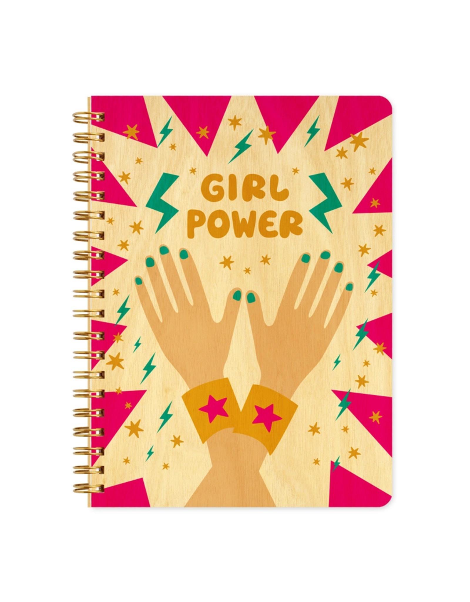 Girl Power Wood Journal