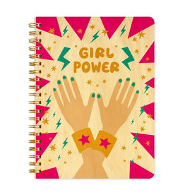 Girl Power Wood Journal
