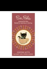 Coffee Kitty Enamel Pin
