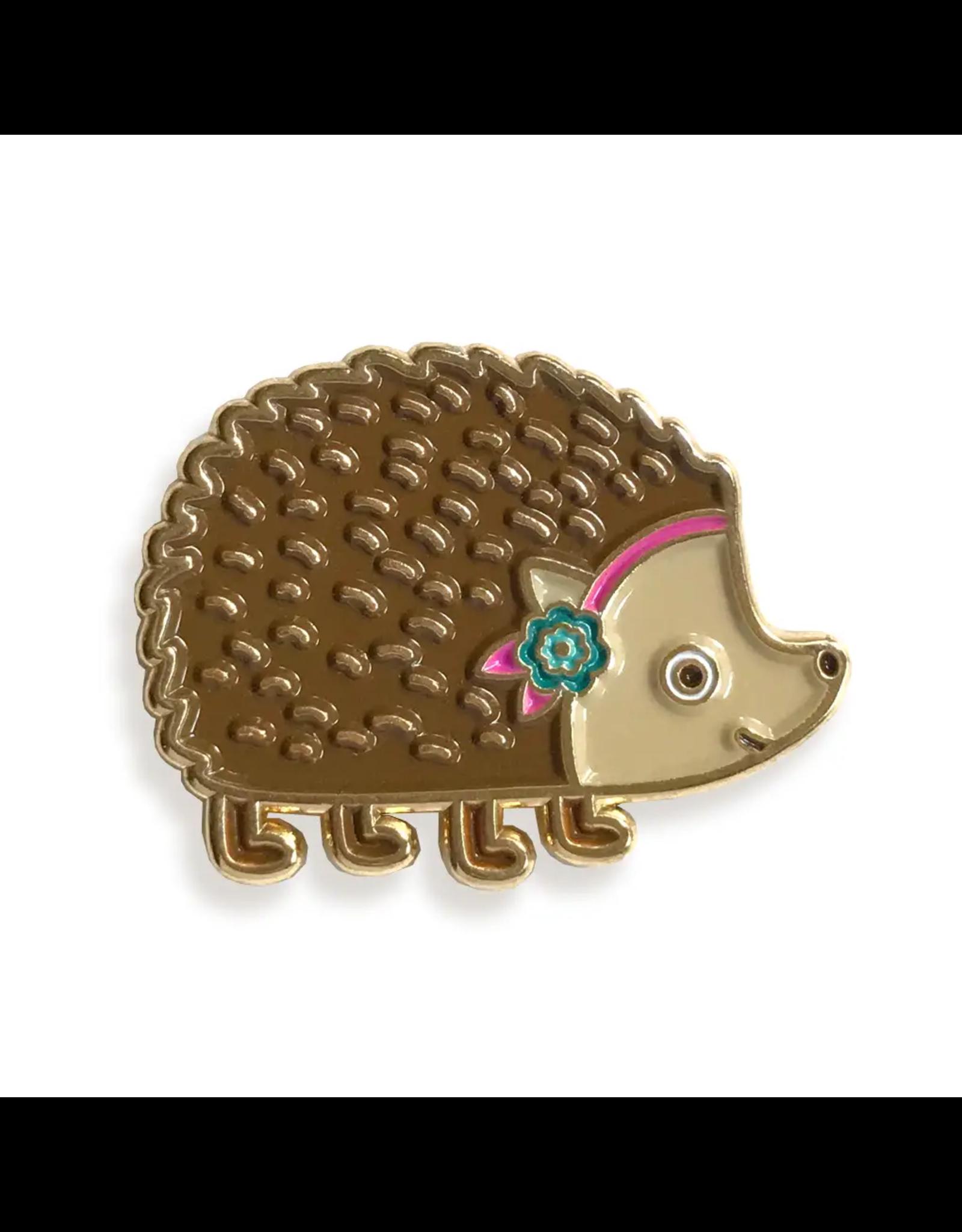 Hedgehog Enamel Pin