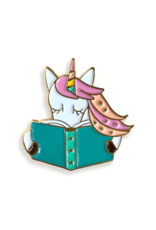 Reading Unicorn Gift Set - Bookmark and Enamel Pin