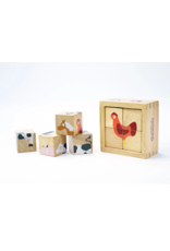 Farm Animal Buddy Blocks - Beginner Block Puzzle Set