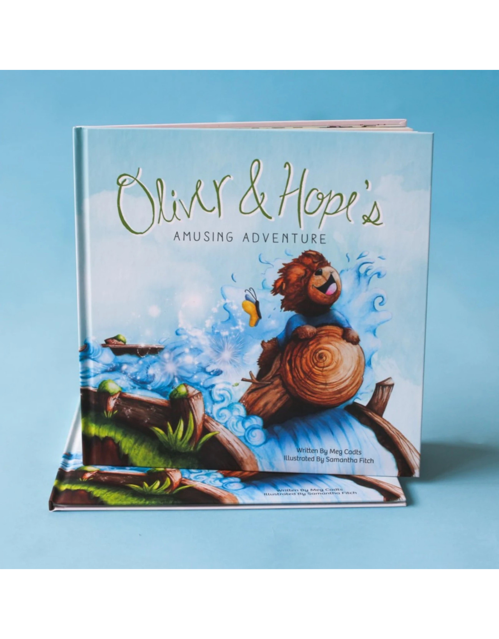 Oliver and Hope's Amusing Adventure® - Hardcover