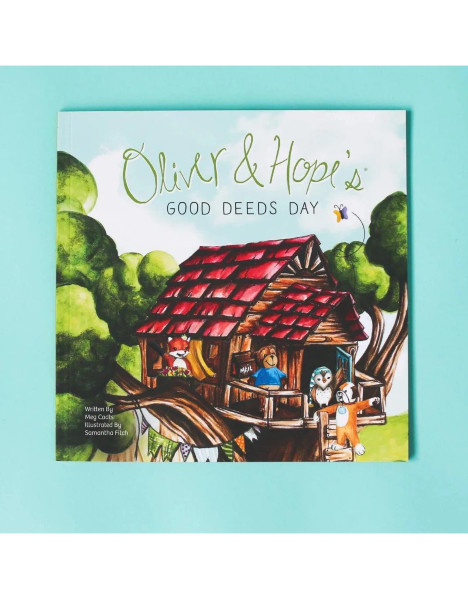 Oliver and Hope's Good Deeds Day® - Softcover