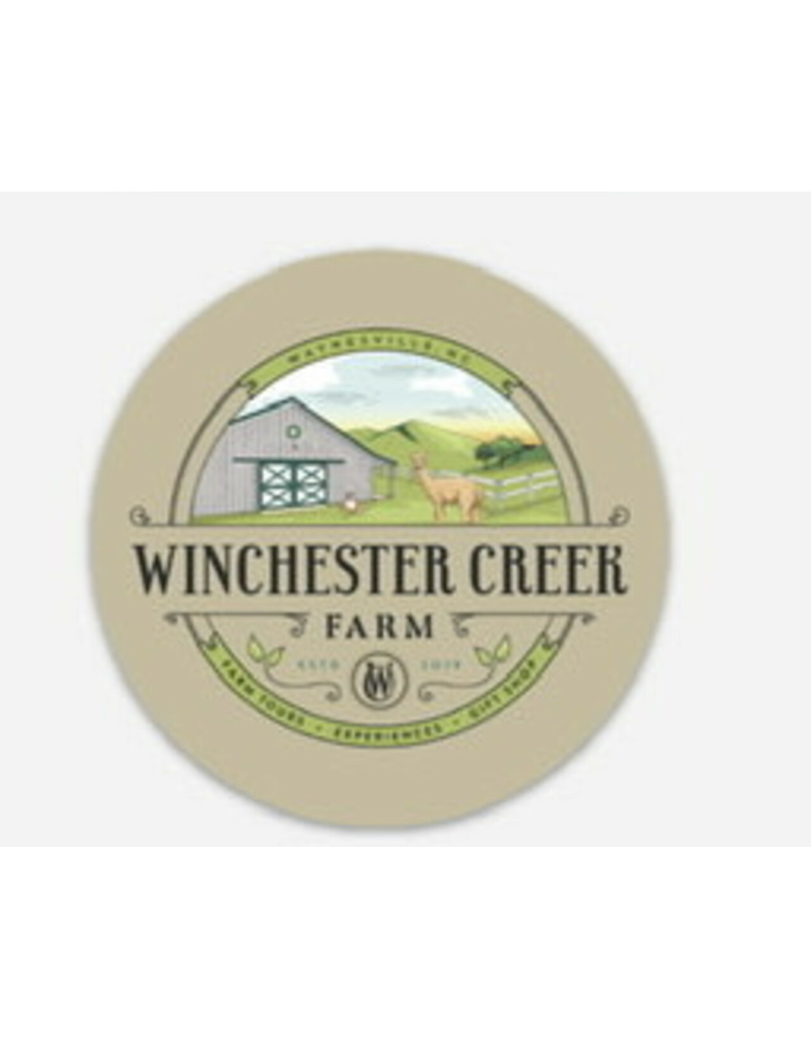 Set of 5 - Winchester Creek Farm Vinyl Stickers