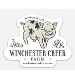 Set of 5 - Winchester Creek Farm Vinyl Stickers