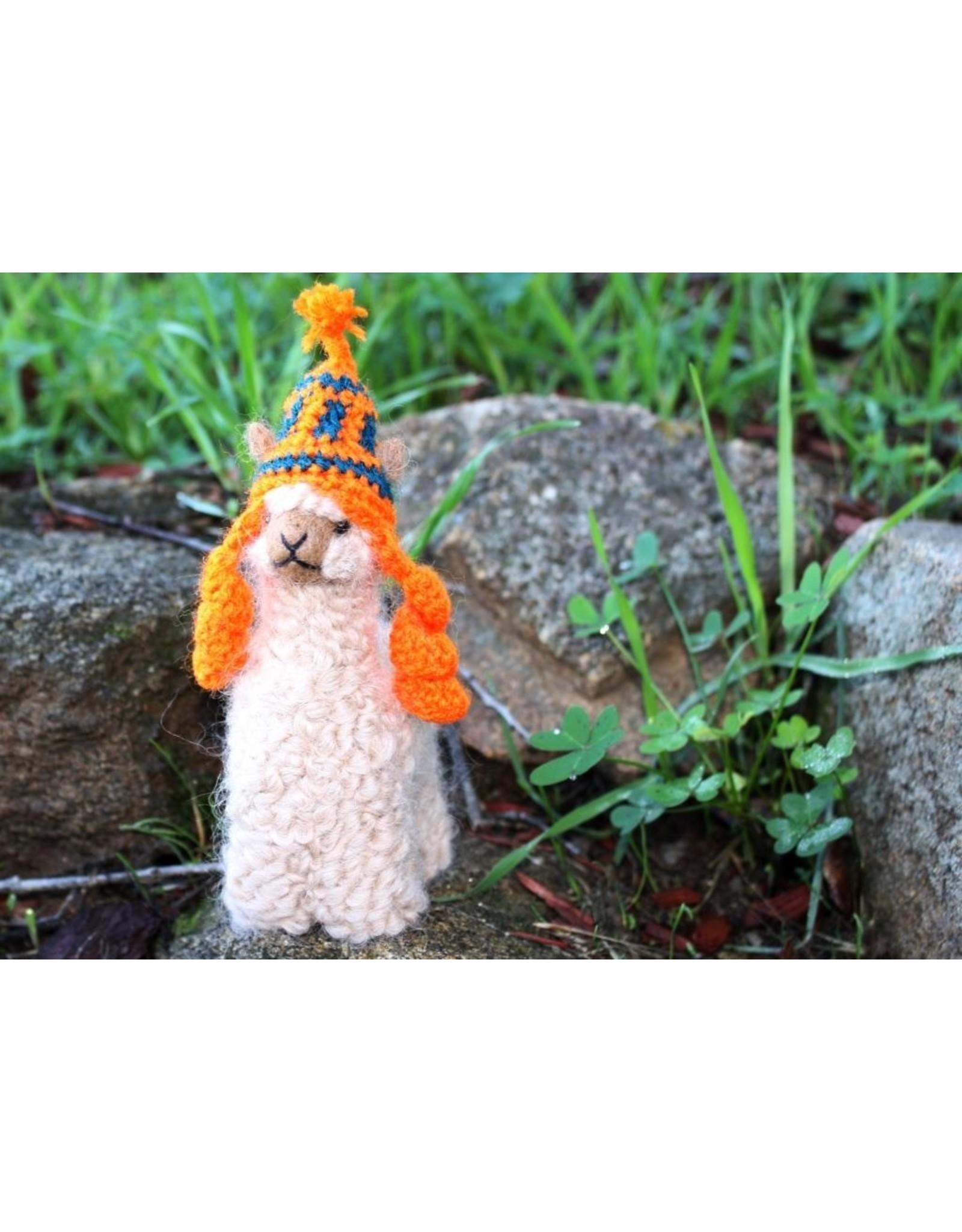 """Chullo Hat for Your 5"""" Alpaca Plush"""