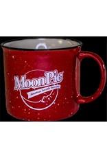MoonPie Red Ceramic Campfire Mug