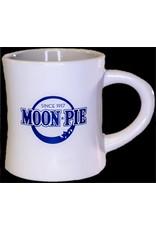 MoonPie Retro Logo Mug- White