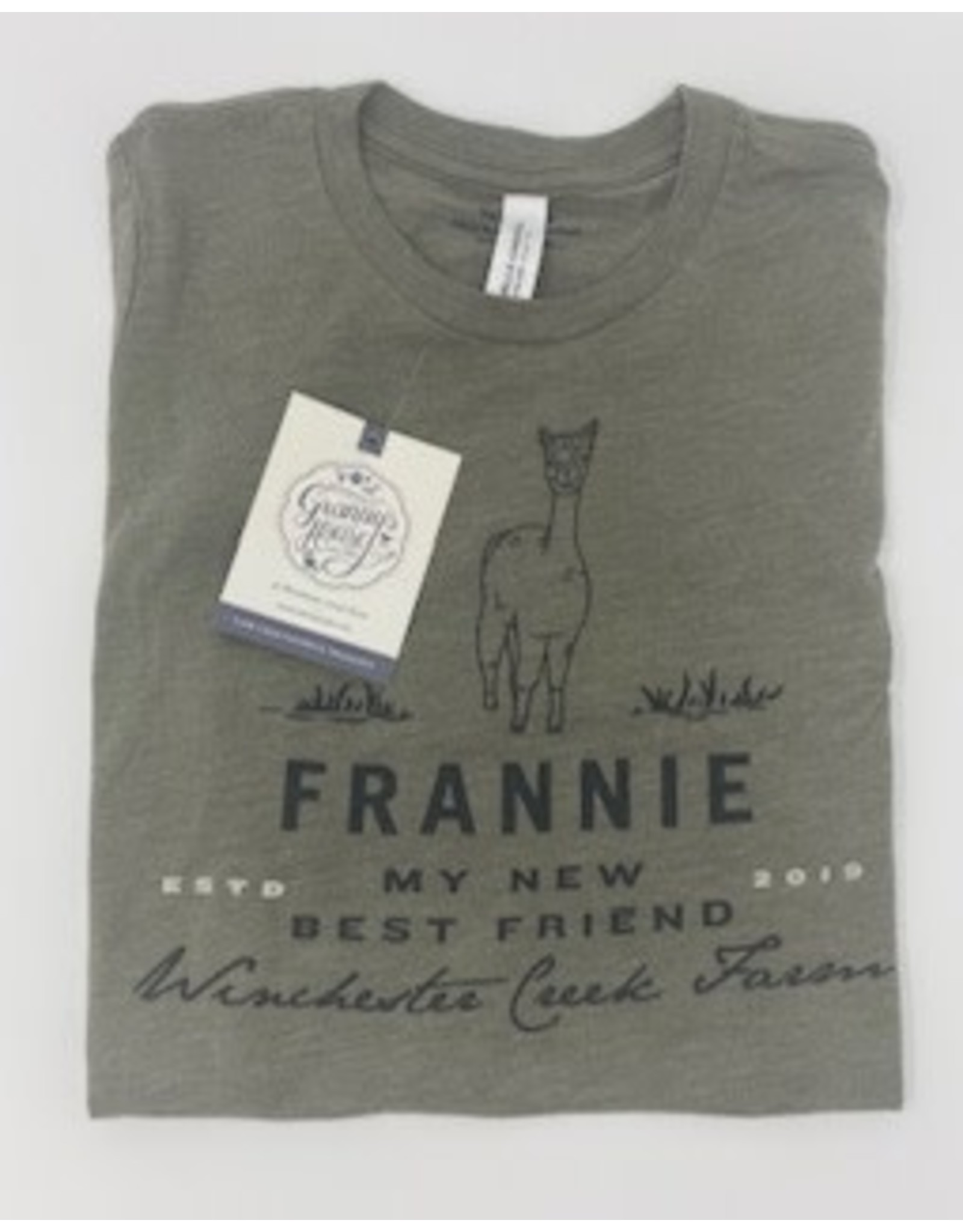 Frannie Olive Tri Blend Shirt- Youth