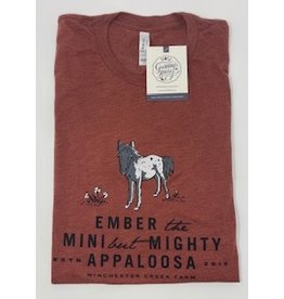 Ember Clay Tri Blend Shirt- Adult