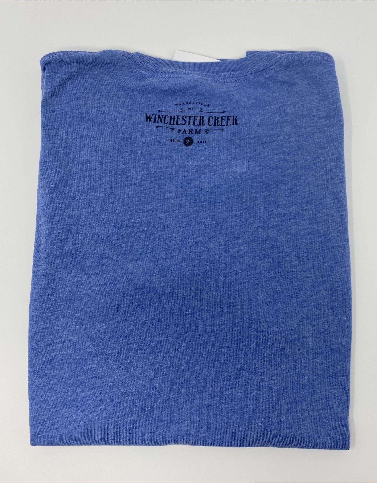 Ember Blue Tri Blend Shirt- Youth