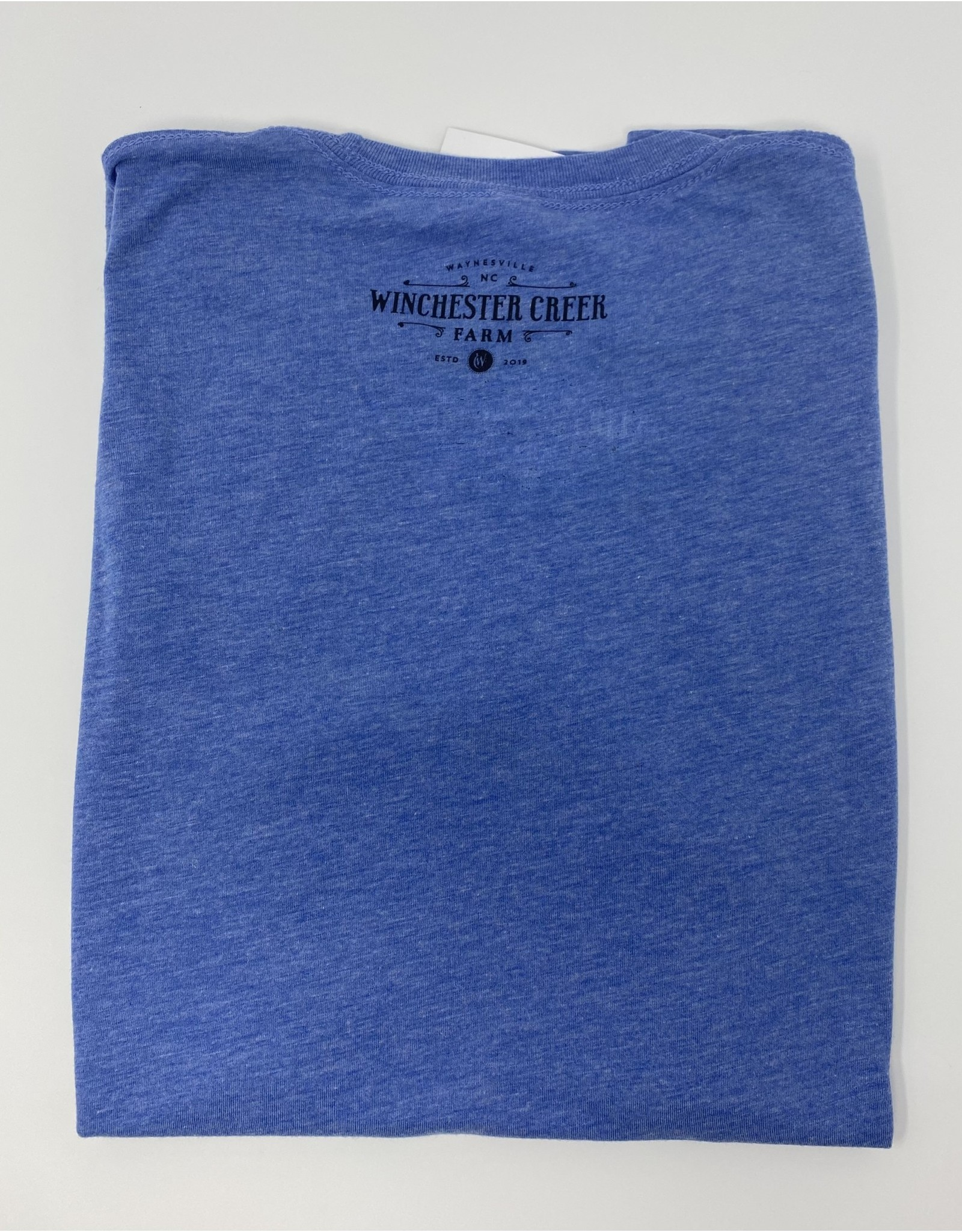 Ember Blue Tri Blend T-Shirt- Youth