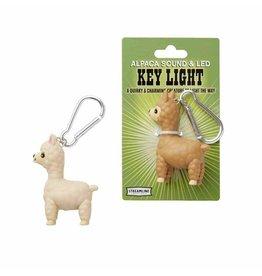Streamline Alpaca Light Keychain