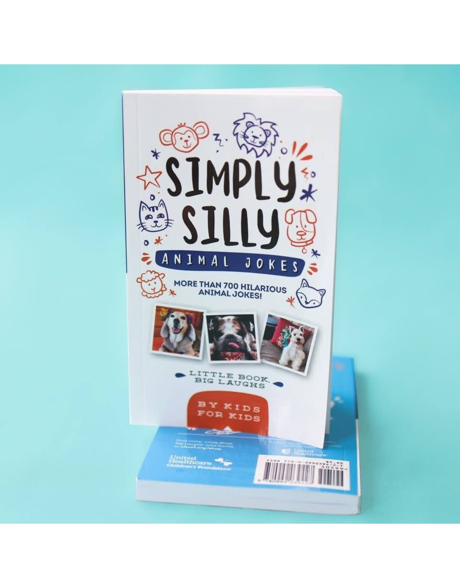 Little Book, Big Laughs Simply Silly Animal Jokes Joke Book