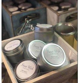 Travel Tin Candle-Barn Wood