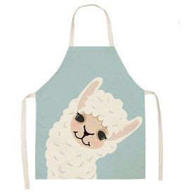 Joyful Alpaca Kitchen Apron