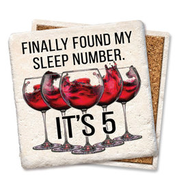 Tipsy Coasters and gifts Finally Found my Sleep Number Coaster
