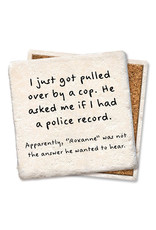 Pulled Over Coaster