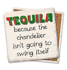 Tipsy Coasters and gifts Tequila Chandelier Coaster