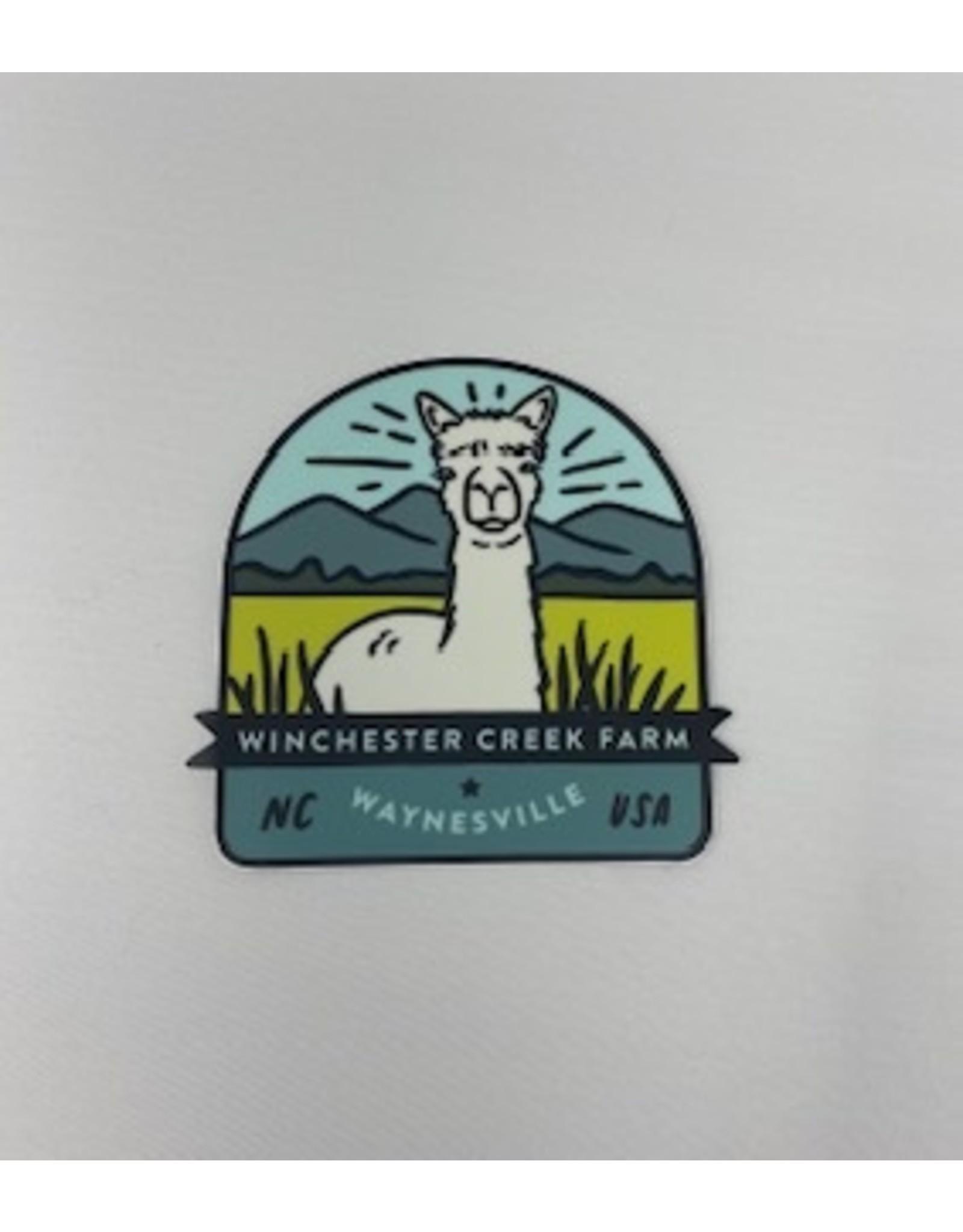 Sticker Mule Alpaca Magnet