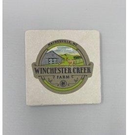 Tipsy Coasters and gifts WCF logo Coaster