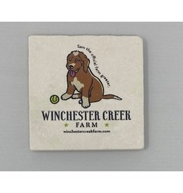 Tipsy Coasters and gifts Sam the Greeter Coaster